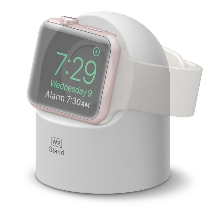 elago W2 STAND Apple Watch スタンド ホワイト_0
