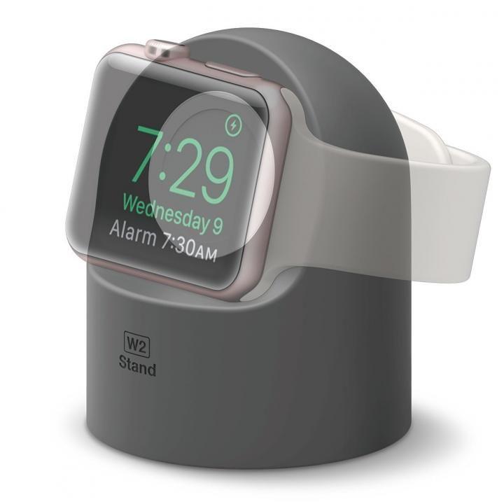 elago W2 STAND Apple Watch スタンド ダークグレイ_0