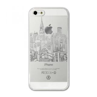 CollaBorn iPhone SE/5s/5用デザインケース Dropcity