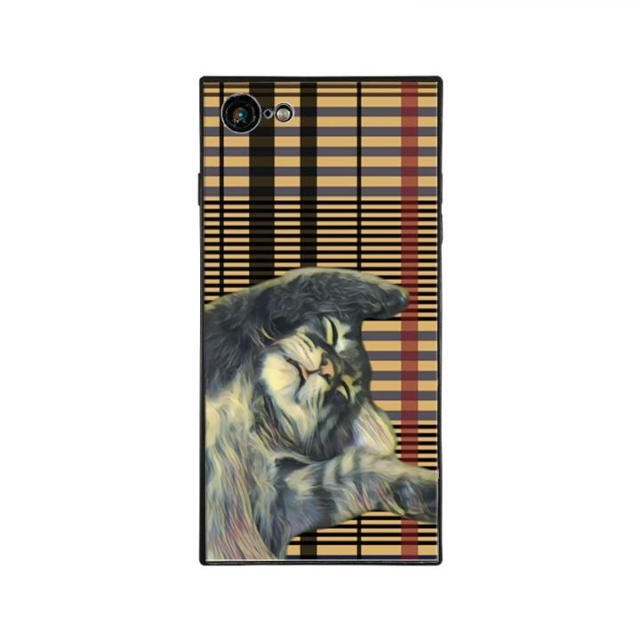 iPhone8/7 ケース anniv.(アニバーサリー) スクエア型 背面ガラスケース ZZZ iPhone 8/7_0