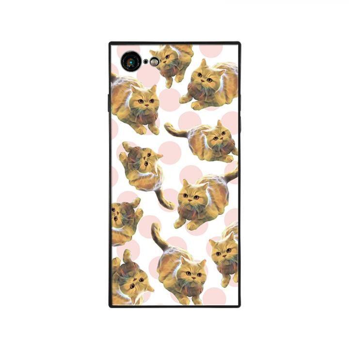 iPhone8/7 ケース anniv.(アニバーサリー) スクエア型 背面ガラスケース COLON DOT iPhone 8/7【9月下旬】_0