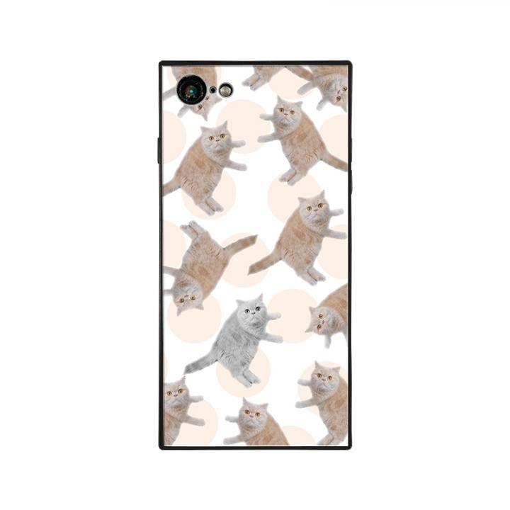 iPhone8/7 ケース anniv.(アニバーサリー) スクエア型 背面ガラスケース COLON iPhone 8/7_0