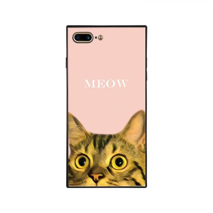 iPhone8 Plus/7 Plus ケース anniv.(アニバーサリー) スクエア型 背面ガラスケース MAN iPhone 8 Plus/7 Plus_0