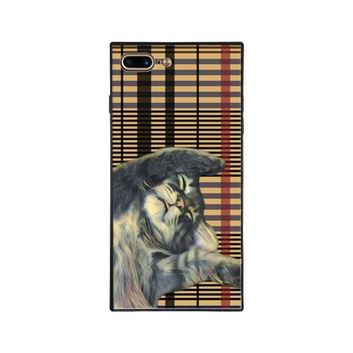iPhone8 Plus/7 Plus ケース anniv.(アニバーサリー) スクエア型 背面ガラスケース ZZZ iPhone 8 Plus/7 Plus_0