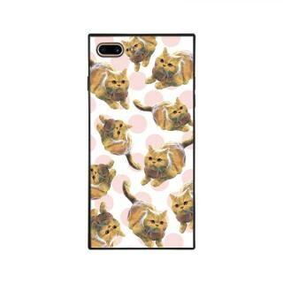 iPhone8 Plus/7 Plus ケース anniv.(アニバーサリー) スクエア型 背面ガラスケース COLON DOT iPhone 8 Plus/7 Plus