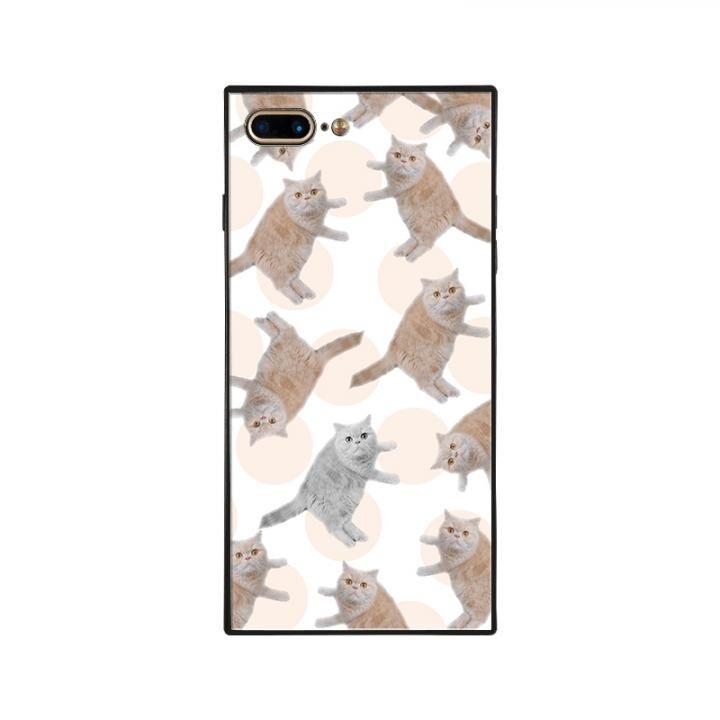 iPhone8 Plus/7 Plus ケース anniv.(アニバーサリー) スクエア型 背面ガラスケース COLON iPhone 8 Plus/7 Plus_0