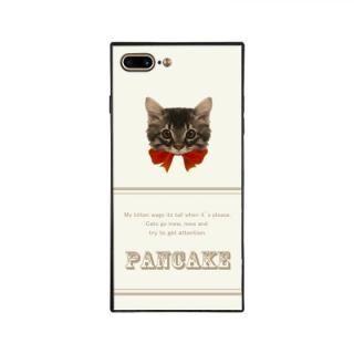 iPhone8 Plus/7 Plus ケース anniv.(アニバーサリー) スクエア型 背面ガラスケース RIBBON RED iPhone 8 Plus/7 Plus