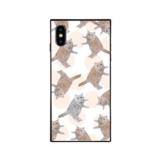 iPhone XS/X ケース anniv.(アニバーサリー) スクエア型 背面ガラスケース COLON iPhone XS/X