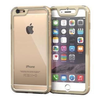 全面保護クリアハイブリッドケース roocase Gelledge ゴールド iPhone 6 Plus