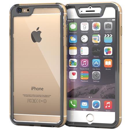 iPhone6 Plus ケース 全面保護クリアハイブリッドケース roocase Gelledge グレー iPhone 6 Plus_0