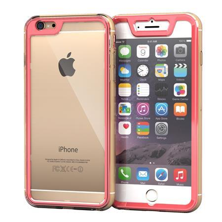 iPhone6 Plus ケース 全面保護クリアハイブリッドケース roocase Gelledge ピンク iPhone 6 Plus_0