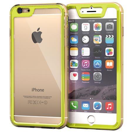 iPhone6 Plus ケース 全面保護クリアハイブリッドケース roocase Gelledge グリーン iPhone 6 Plus_0