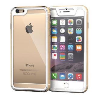 全面保護クリアハイブリッドケース roocase Gelledge ホワイト iPhone 6 Plus