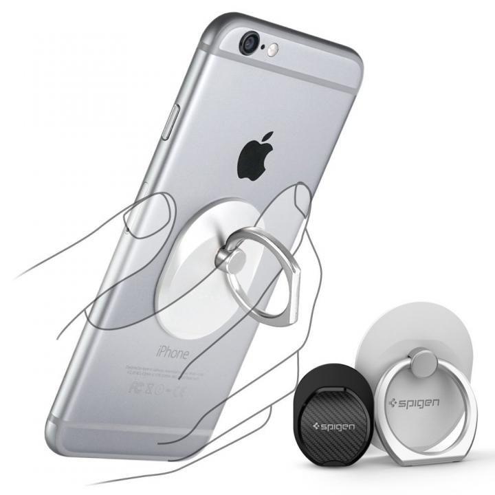 Spigen Style Ring スマホリング 落下防止 ホワイト_0