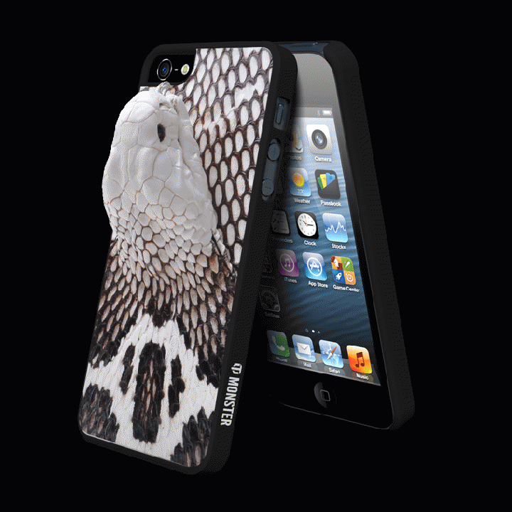 Vcoer 【iPhone5/5s対応コブラ皮モンスターケース】 Monster-Cobra オリジナル