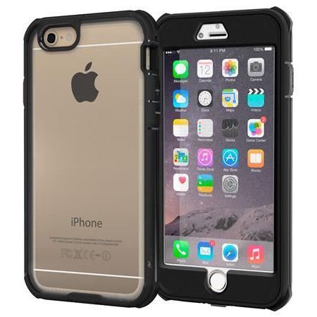 【iPhone6 Plusケース】耐衝撃全面保護 ハイブリッドケース roocase Gelledge ブラック iPhone 6 Plus_0