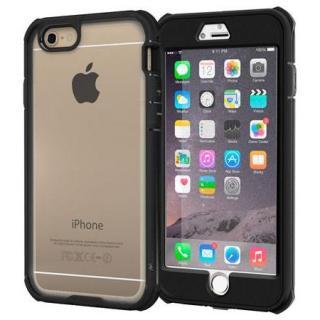 耐衝撃全面保護 ハイブリッドケース roocase Gelledge ブラック iPhone 6 Plus