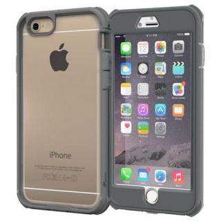 耐衝撃全面保護 ハイブリッドケース roocase Gelledge グレー iPhone 6 Plus