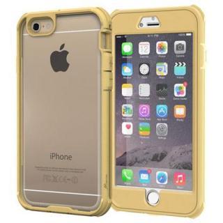 耐衝撃全面保護 ハイブリッドケース roocase Gelledge ゴールド iPhone 6 Plus