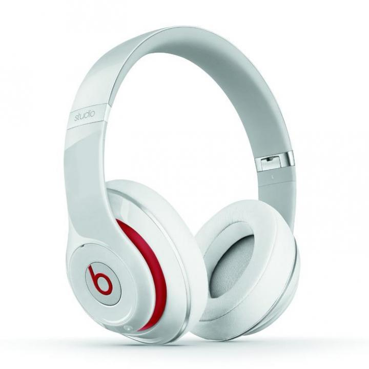 Beats Studio オーバーイヤーヘッドフォン - ホワイト_0