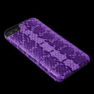 51569651bf28 iPhone SE/5s/5 ケース 動物皮モンスターケース Vcoer Monster-Snake パープル