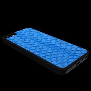 動物皮モンスターケース Vcoer Monster-Grass carp ブルー iPhone 5s/5ケース