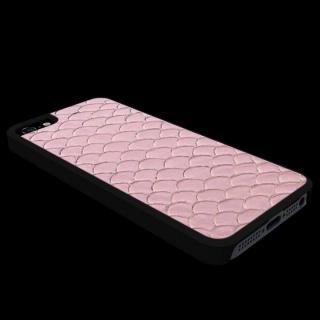 【iPhone SE ケース】動物皮モンスターケース Vcoer Monster-Tilapia ピンク iPhone 5s/5ケース
