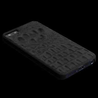 【iPhone SE ケース】動物皮モンスターケース Vcoer Monster-Crocodile ブラック iPhone 5s/5ケース