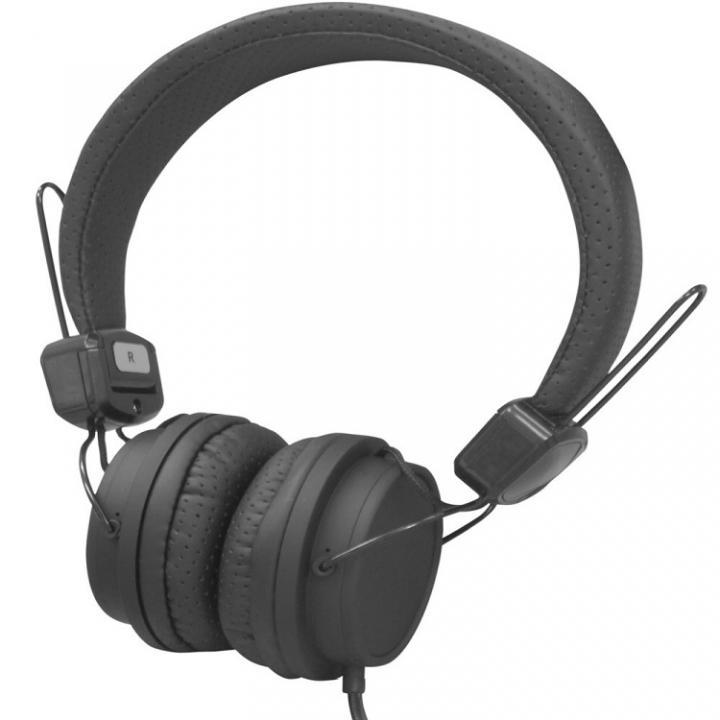 密閉型ステレオデザインヘッドホン H-20 ブラック_0