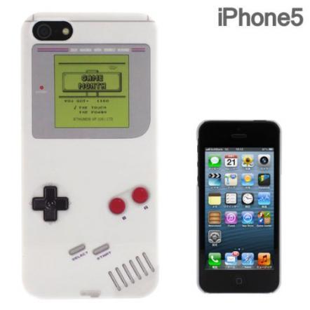 iPhone5 FLASHBACKS Old-School ハードケース (ポータブルビデオゲーム機)