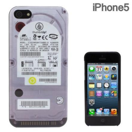 iPhone5 FLASHBACKS Old-School ハードケース (ハードディスクドライブ)