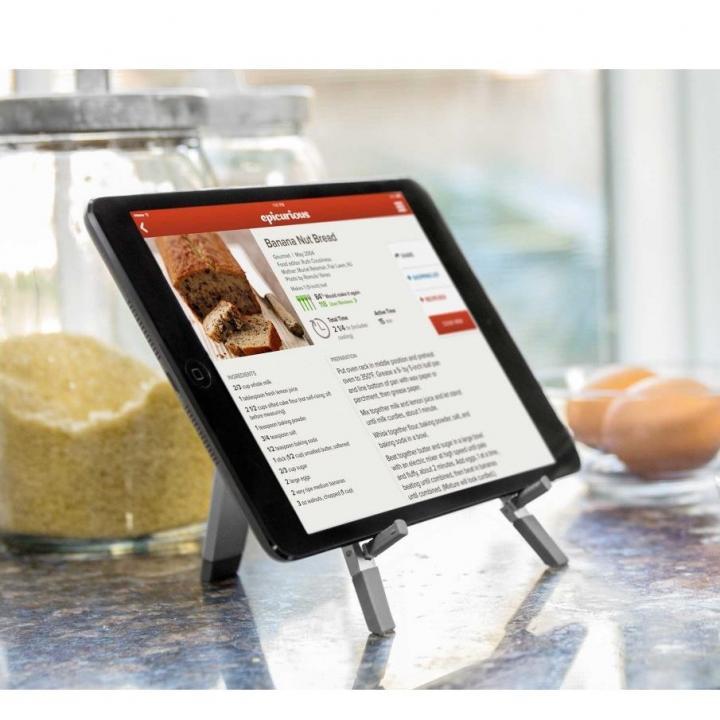 折りたたみ式多機能スタンド Twelve South Compass2 for iPad (シルバー) 送料無料