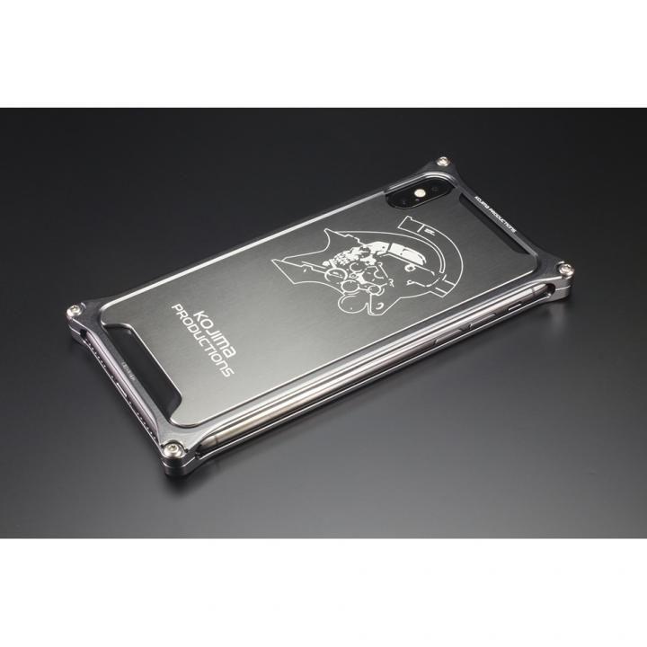 【iPhone XS/Xケース】ギルドデザイン Kojima Productions Logo Ver. ソリッドバンパー/背面パネル iPhone XS/X_0