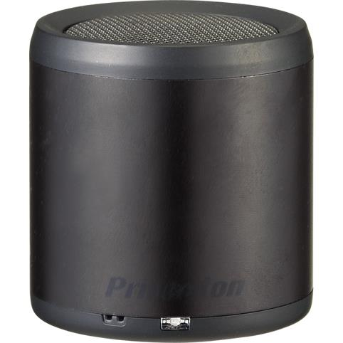 「BLUETUBE」Bluetooth対応ワイヤレスミニスピーカー ブラック_0