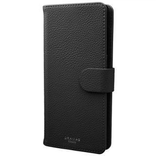 GRAMAS COLORS EveryCa2 マルチ対応PUレザー手帳型ケース Lサイズ/ブラック