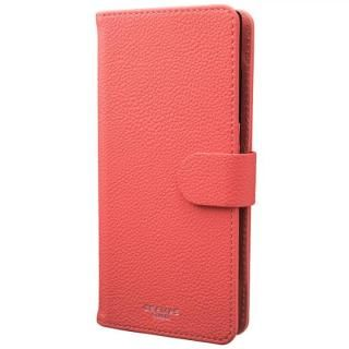 GRAMAS COLORS EveryCa2 マルチ対応PUレザー手帳型ケース Lサイズ/ピンク