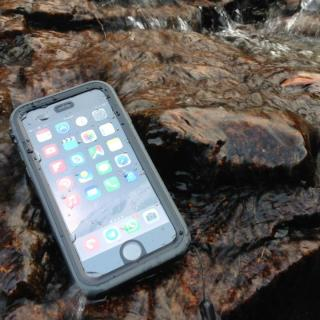 【iPhone6ケース】Catalyst(カタリスト) 完全防水ケース CT-WPIP144  ブラックオレンジ iPhone 6_4