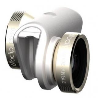 olloclip 4種類レンズ ホワイトゴールド