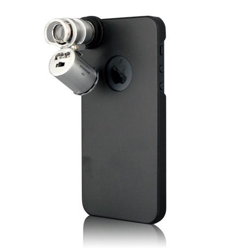 iPhone SE/5s/5 ケース 60倍顕微鏡付きケース  iPhone SE/5s/5_0