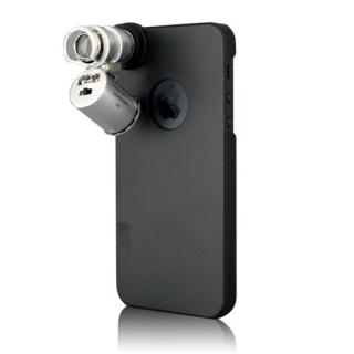 【iPhone SE/5s/5ケース】60倍顕微鏡付きケース  iPhone SE/5s/5