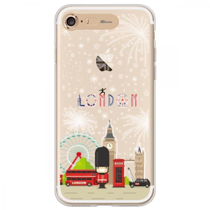 イルミネーション クリアTPUケース ロンドン iPhone 7