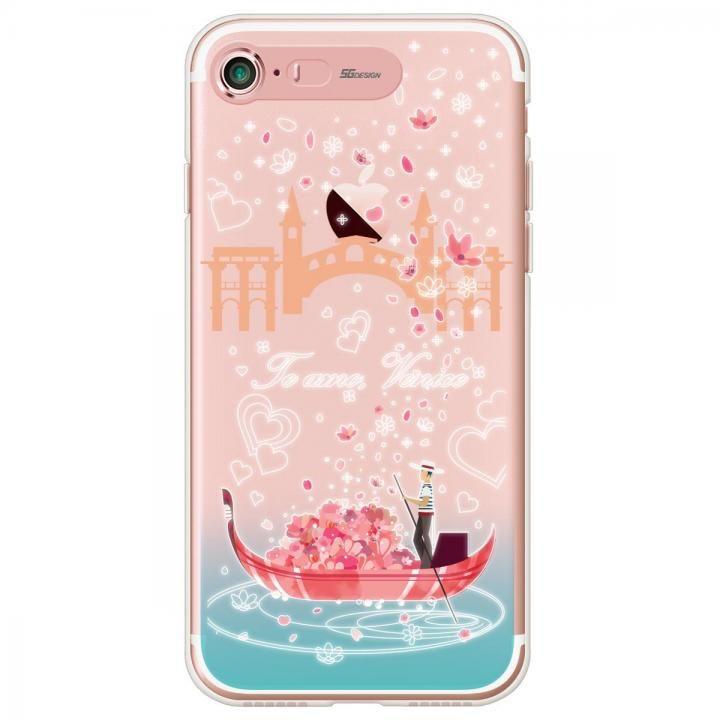 【iPhone7ケース】イルミネーション クリアTPUケース ヴェニス iPhone 7_0