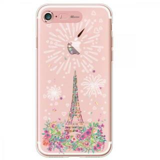 イルミネーション クリアTPUケース パリ iPhone 7