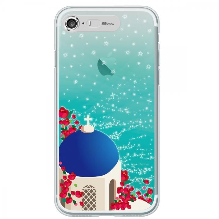 【iPhone7ケース】イルミネーション クリアTPUケース エーゲ海 iPhone 7_0