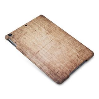木目のような3D印刷ハードケース  iPad Air 荒目キズ