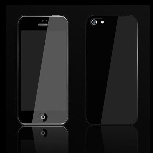 【iPhone SE/5s/5ケース】Zero 5(0.5mm)UltraThin Color  iPhone 5 Black_0