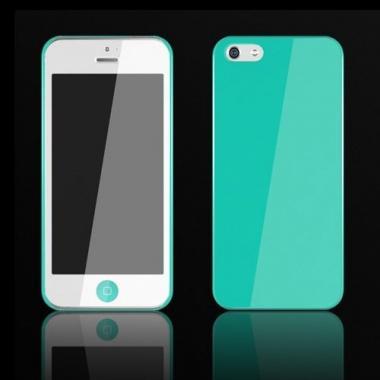 iPhone SE/5s/5 ケース Zero 5(0.5mm)UltraThin Color  iPhone 5 Blue