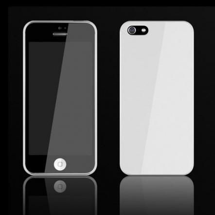 Zero 5(0.5mm)UltraThin Color  iPhone 5 White