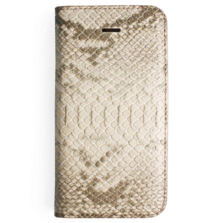 iPhone SE/5s/5 ケース GAZE ミルクスネイク手帳型ケース iPhone SE/5s/5_0