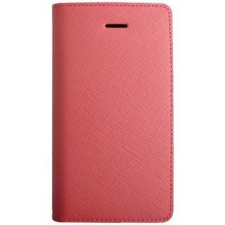 iPhone SE/5s/5 ケース LAYBLOC サフィアーノ本革手帳型ケース ベビーピンク iPhone SE/5s/5